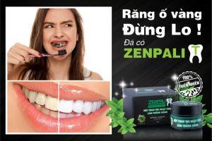 Hướng dẫn sử dụng bột than tre trắng răng Zenpali