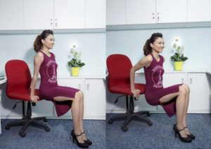 Bài tập tăng cân 2 - bài tập cơ tay với ghế
