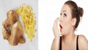 Cách chữa hôi miệng bằng gừng hiệu quả