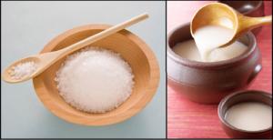 Cách chữa hôi miệng bằng nước vo gạo và muối