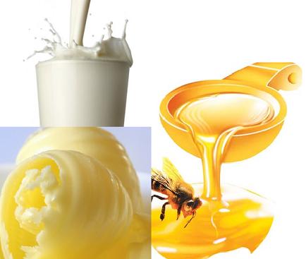 Tăng cân bằng mật ong kem trứng gà