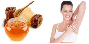 Trị hôi nách bằng mật ong nguyên chất