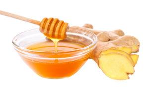 Trị hôi nách bằng mật ong và gừng tươi