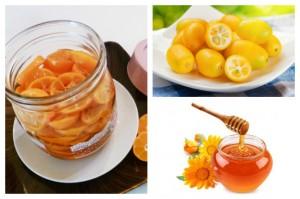 Cách trị ho bằng quất rim mật ong