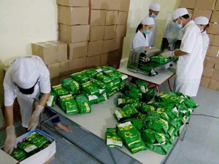 Quy trình sản xuất mầm đậu nành Thanh Mộc Hương