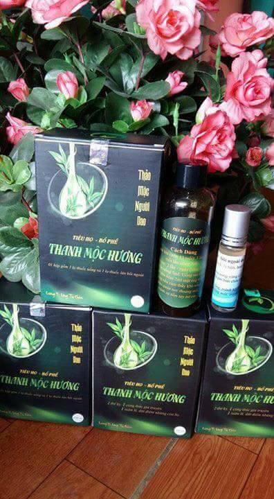 Thuốc ho bổ phế Thanh Mộc Hương