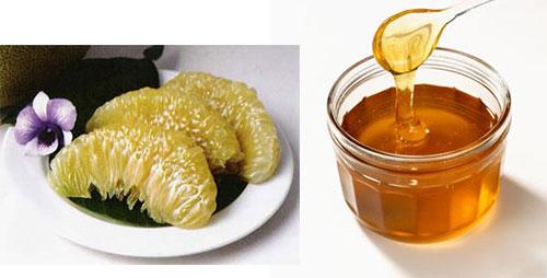 Giảm cân an toàn bằng trà bưởi mật ong