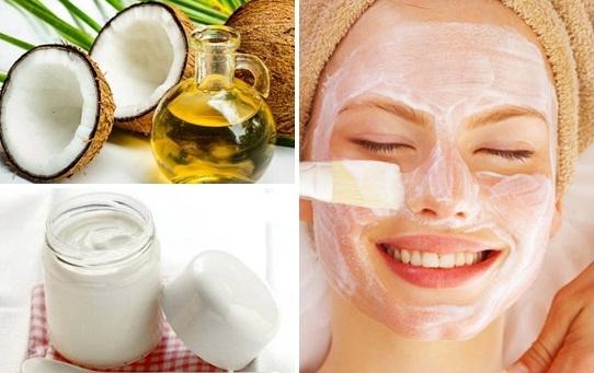 Trị nám da hiệu quả bằng dầu dừa và sữa chua