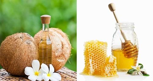 Trị nám da tận gốc bằng dầu dừa và mật ong