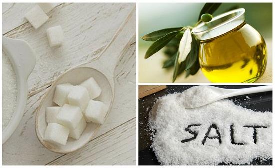 Cách trị nám hiệu quả bằng dầu oliu muối đường