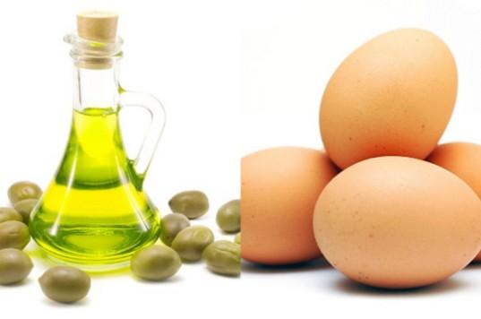 Trị nám hiệu quả bằng dầu oliu trứng gà