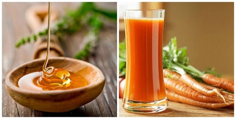Chữa bệnh trĩ bằng mật ong và cà rốt