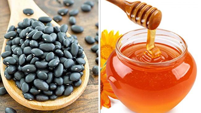 Chữa bệnh trĩ hiệu quả bằng mật ong và đậu đen