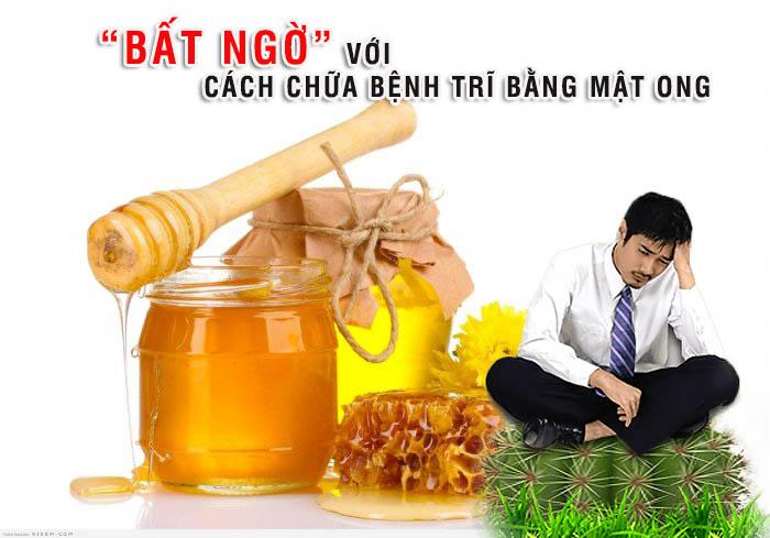 Mật ong chữa bệnh trĩ