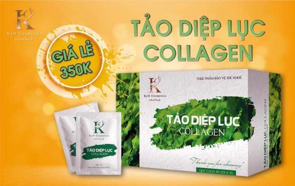 Tác dụng của tảo diệp lục collagen KYO
