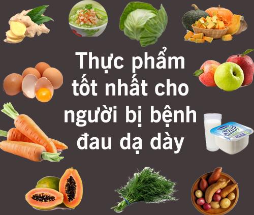 Người bị đau dạ dày nên ăn gì