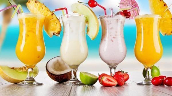 Sinh tố thức uống tăng cân hiệu quả