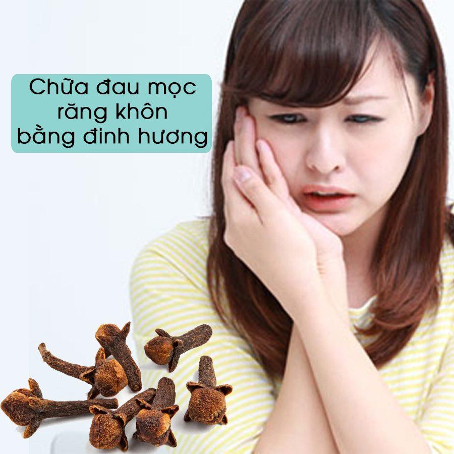 Cách chữa đau mọc răng khôn bằng đinh hương